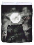 Haunted Dark Castle Duvet Cover