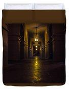 Haunted Hallways Duvet Cover