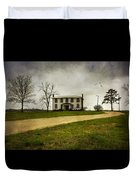 Haunted House On A Hill Duvet Cover