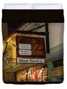 Haunted St. Augustine Duvet Cover