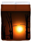 Haunting Sunrise Duvet Cover