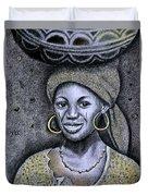 Hausa Maiden  Duvet Cover