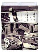 Havana Cuba Taxi Duvet Cover