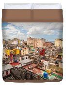 Havana From Above Duvet Cover