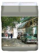 Havana Streets 1 Duvet Cover