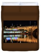 Havasu At Night Duvet Cover