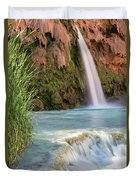 Havasu Falls Travertine Ledge Duvet Cover