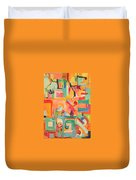 Have Patience Duvet Cover