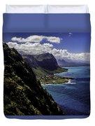 Hawaii Coastline Duvet Cover