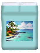 Hawaii North Shore Oahu #472 Duvet Cover