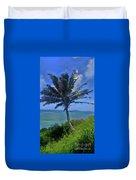Hawaii Palm Duvet Cover
