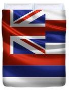 Hawaii State Flag Duvet Cover