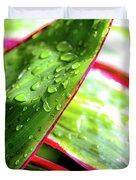Hawaii Ti Leaves Morning Shower 559 Duvet Cover