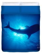 Hawaii, Whale Shark Duvet Cover