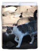 Hawaiian Feral Cat 2 Duvet Cover
