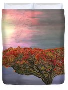 Hawaiian Flame Tree Duvet Cover
