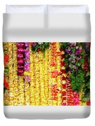 Hawaiian Flower Lei's Duvet Cover