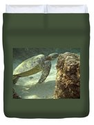 Hawaiian Green Sea Turtle Duvet Cover