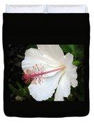 Hawaiian Hibiscus 2 Photograph Duvet Cover
