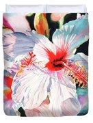 Hawaiian Hibiscus Duvet Cover