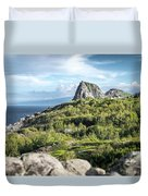 Hawaiian Island Drive Duvet Cover by T Brian Jones