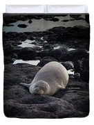 Hawaiian Monk Seal Duvet Cover