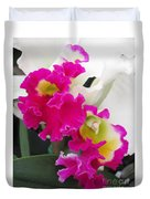 Hawaiian Orchid 10 Duvet Cover