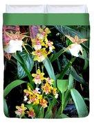 Hawaiian Orchid 36 Duvet Cover