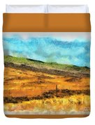 Hawaiian Pasture Duvet Cover
