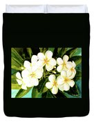 Hawaiian Plumeria #56 Duvet Cover