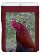 Hawaiian Rooster Duvet Cover