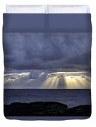 Hawaiian Sunrise Duvet Cover