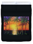 Hawaiian Sunset  #329 Duvet Cover