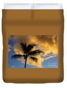 Hawaiian Sunset Hanalei Bay 5  Duvet Cover