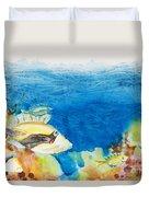 Hawaiian Triggerfish Duvet Cover