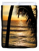 Hawaiin Sunset Duvet Cover