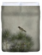 Hawk In The Treetop Duvet Cover