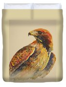 Hawk Messenger Duvet Cover
