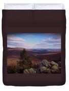 Hawk Mountain Sanctuary Duvet Cover by David Dehner