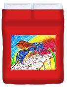 Hawk Wasp Duvet Cover