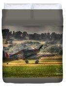 Hawker Hurricane Mk 1 R4118 Takeoff Duvet Cover