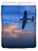 Hawker Hurricane On Dawn Patrol Duvet Cover