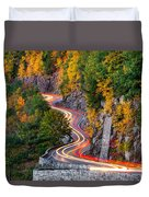 Hawk's Nest Duvet Cover