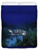 Hawksbill Sea Turtle 1 Duvet Cover