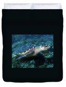 Hawksbill Sea Turtle 3 Duvet Cover