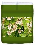 Hawthorn Gold Duvet Cover