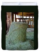 Hay Is For Horses Duvet Cover