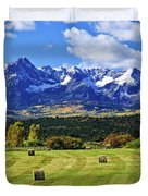Hay With A View Duvet Cover