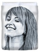 Hayley Williams. Duvet Cover