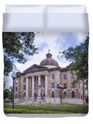 Hays County Courthouse Duvet Cover